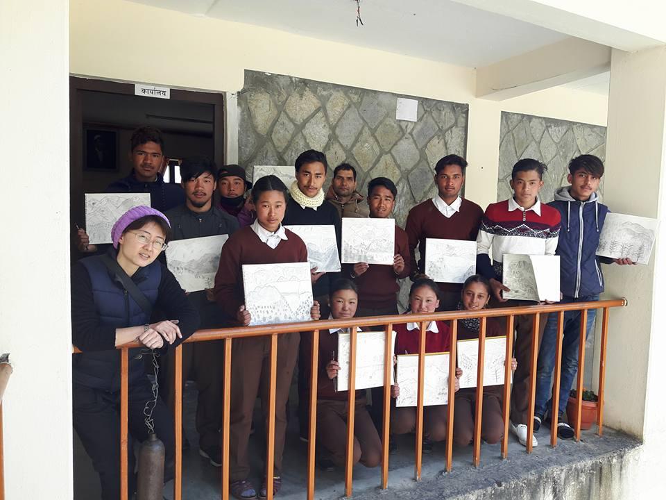 ネパール児童絵画教育プロジェクト
